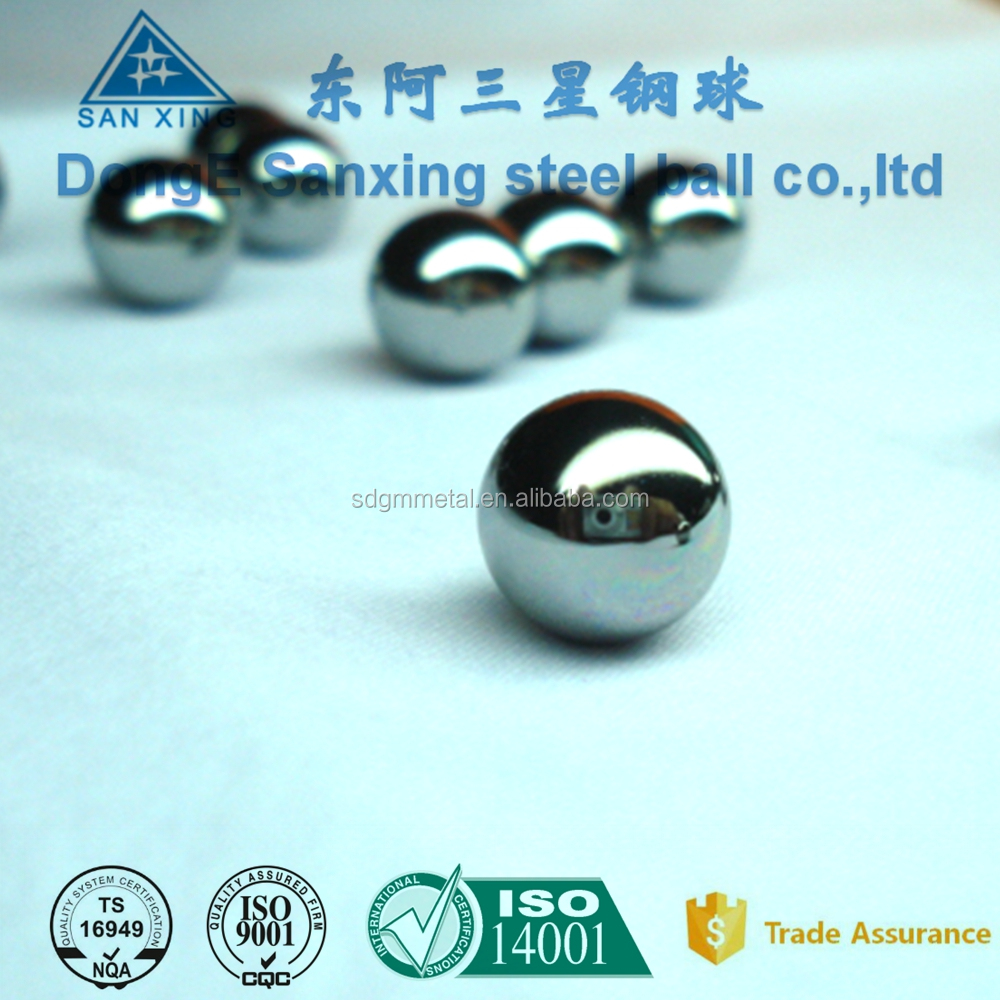 China supplier polished 2 3 4 5 6 inch stainless steel precision balls