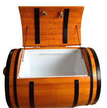 Ice Buckets & Tongs Buckets, Whiskey Coolers & Holders Type Wooden Ice Barrel