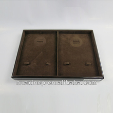 top quality wooden stackable jewelry display tray