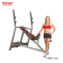 G-635 Guangzhou Ganas Gym Equipment Incline Bench Press Machine/Fitness Equipment Factory