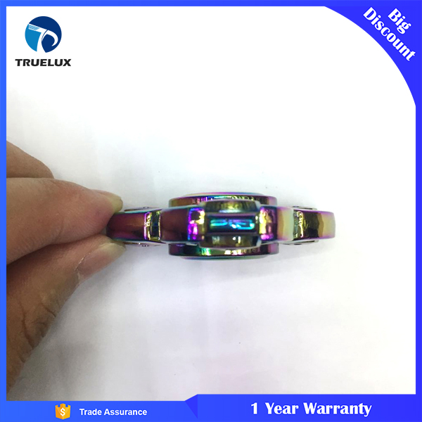 New Products Zinc Alloy Metal Ball Bearing Relax Russian Finger Toys Colorful Hand Fidget Spinner