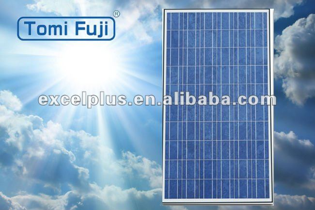 30V 220w low price high quality poly crystalline solar panel with TUV UL certificates for home