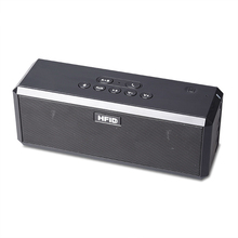 Bluetooth portable speaker For smart phone with standard 3.5 jack and micro usb port, playing 10 hours for mp3 player