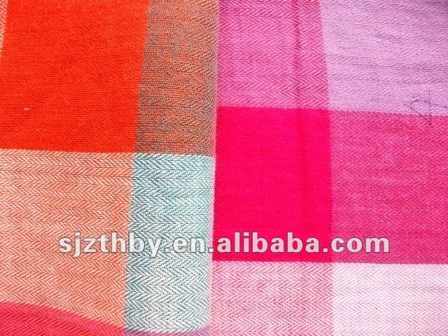 hotsale 100% cotton yarn dyed shirting fabric for pepole shirt