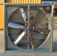 agricultural cooling system ventilation exhaust fan