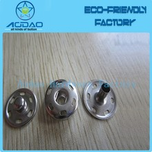 Silver Sew on Snap Fastener Press Studs Sew On Snaps Button