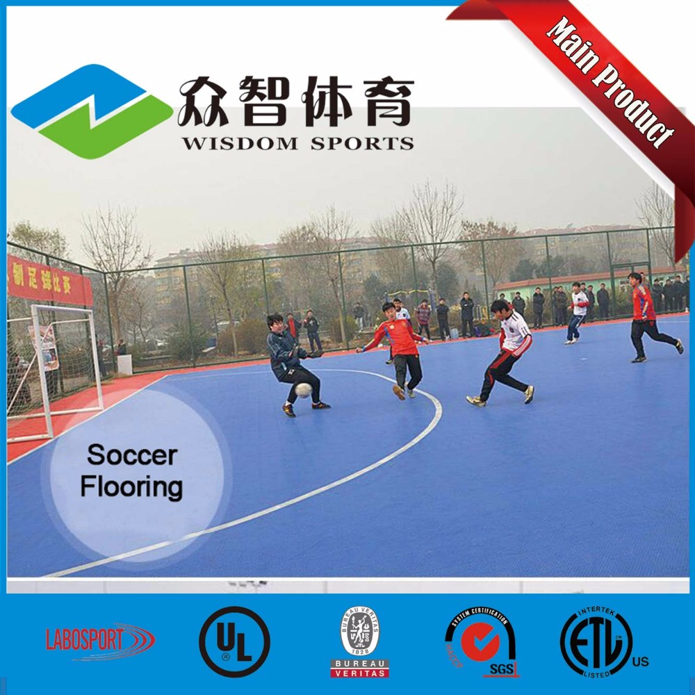 Hot Sale badminton / tennis / futsal / basketball Court Flooring with SGS LABOPSORT certificate