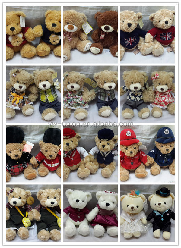 ODM OEM Cathay pacific promotion air force bear / Airline giveaway toy bear