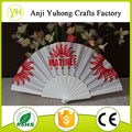 OEM plastic foldable hand fan for advertising or promotion