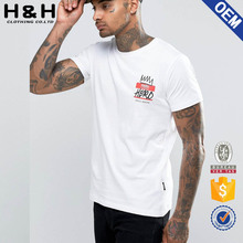 curved hem t shirt embroidered logo bangladesh t shirt manufacture