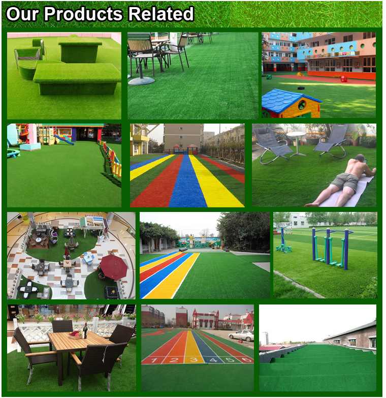 factory Wholesale turf all kinds of decorative artificial grass for garden