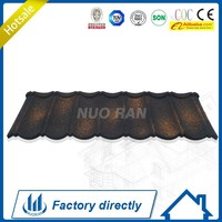 Nuoran asphalt roof shingles tile/metal roof sheet/stone coated aluminum roofing tiles