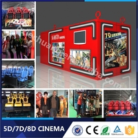 Top Quality Lechuang 6/8/9 Dynamic Riders 5D 6D 7D Cinema Simulator