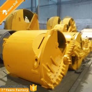 Bore Pile Bucket For Drilling Rock Formation