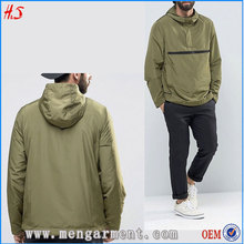 High Quality Men Jackets Winter Fashion Custom Head Windbreaker With Polyester Fabric