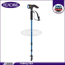 130655 OEM/ODM factory Logo Printed Walking Stick With Light and Alarm