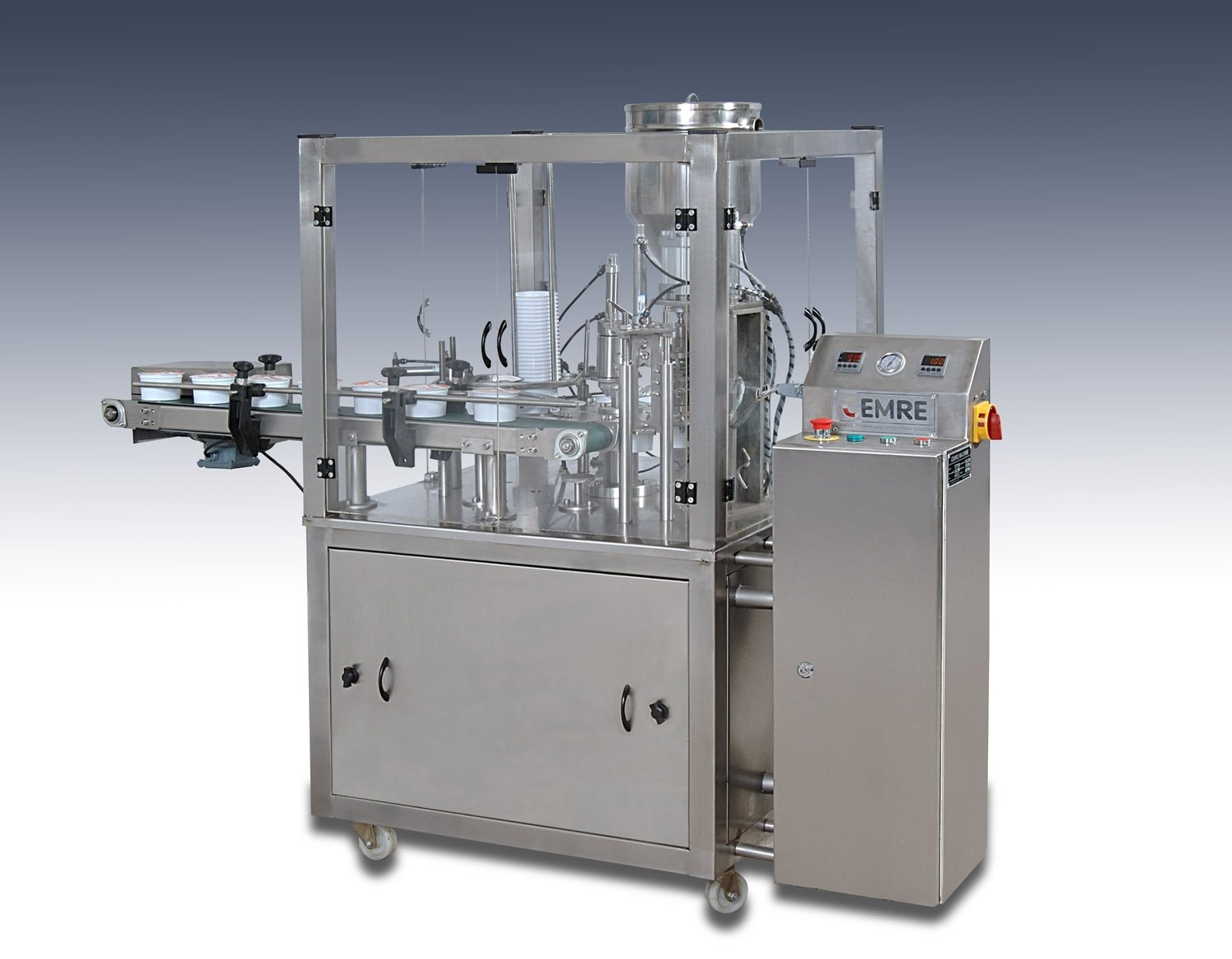 Rotary Plastic Cup Filling Machine