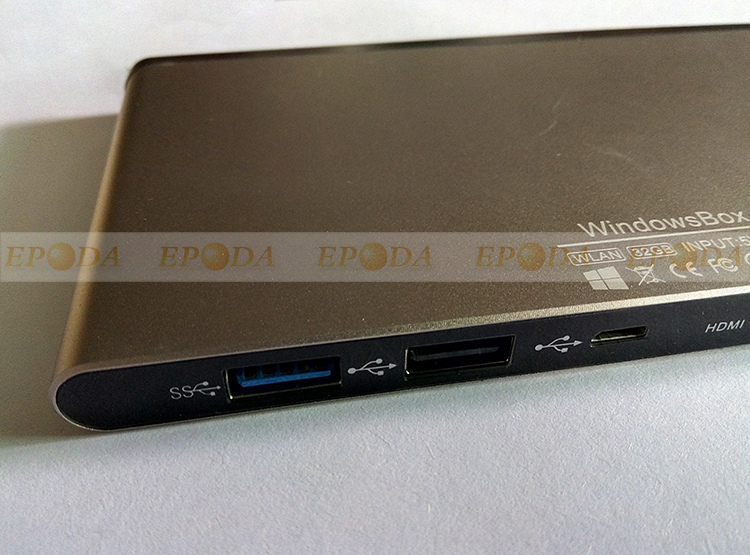 Intel Atom Z8300 X86 Windows 10 Mini PC with HDMI and 2 USB Port