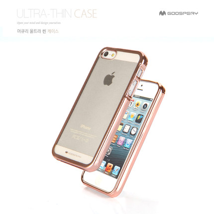 Branded Cell Phone Cover , Mercury Goospery Ring 2 Jelly Case For iPhone SE 5 5s 6 7plus 8 10 X Soft TPU Slim