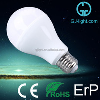 top quality ce certification plastic and heatsink A19 e27 7w led bulb