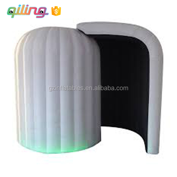 Portable durable LED dome inflatable igloo photo booth Vending Machine for Sales,photo booth In China
