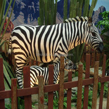 Animatronic imitation animals for playground decoration in hot sale