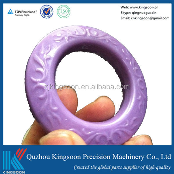 Kingsoon factory direct sale and custom plastic injection red grommets
