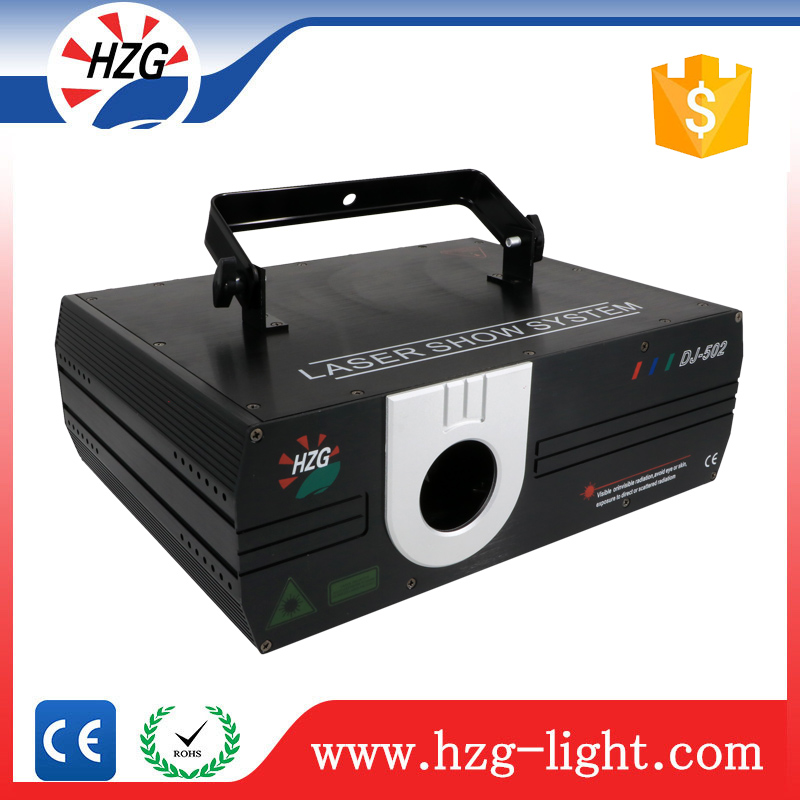 Professional stage laser lighting 2 Watt rgb laser projector animation laser dj system price