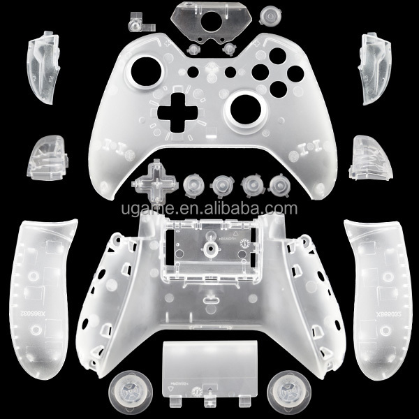 Crystal Clear Shell for Xbox One Controller Shell Popular Color
