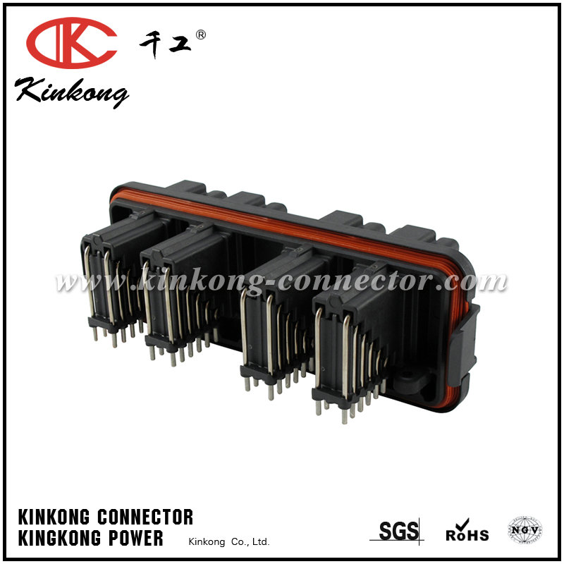48 way Male waterproof DT Series Automotive Connector DT13-48PABCD-R015