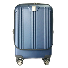 Fashion spinner wheel front open pocket luggage