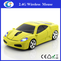 car shape wireless optical mouse for pc