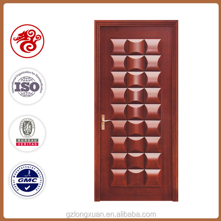 Simple teak wood interior doors with used old ,high quality old wood for sale