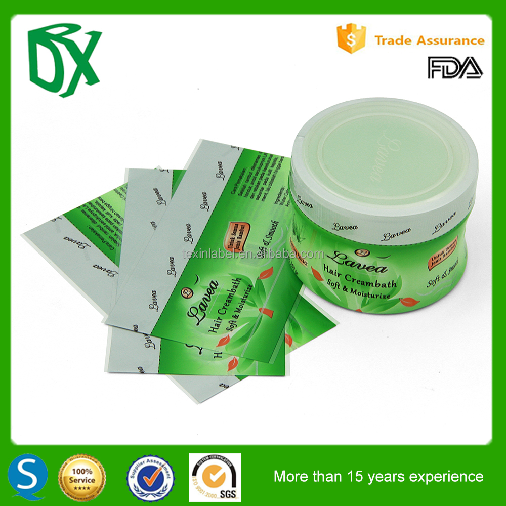 Hot sell high quality pvc/pet/ops shrink sleeve label made in guangzhou