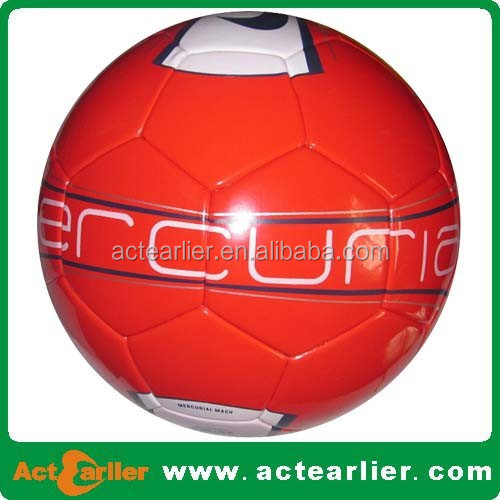 high bounce seamless laminated soccer balls
