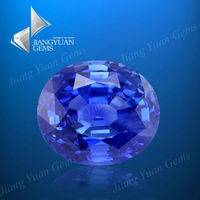 Europe Machine Cut Tanzanite Oval Cubic Zircon