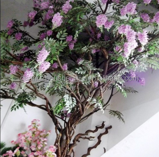 Nozze decorazione q090916 glicine artificiale albero for Glicine bonsai prezzo