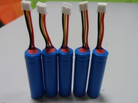 14500 3.6V 750mah li-ion battery with pcb