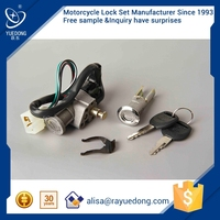 Wenzhou Direct Factory Supplier DY100 motorcycle lock set for honda dio parts Made In China