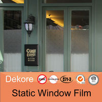 Privacy protection bathroom static cling window film