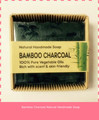 handmade bamboo charcoal soap wholesale