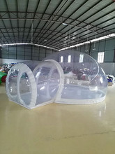 Durable Big Inflatable Lawn Tent Transparent PVC Inflatable Bubble Tent / Inflatable Clear Dome /Inflatable Igloo