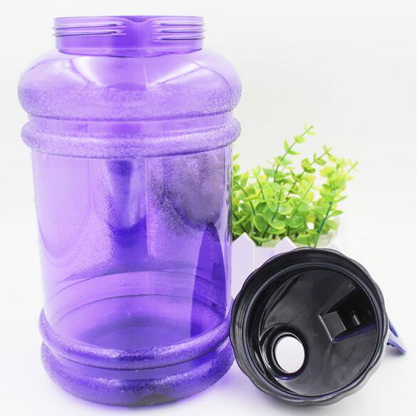 PETG 2.2L water jug,2.2l Large Shaker Water Bottle Protein with Custom Logo