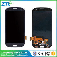 China mobile phone display for samsung s3,for samsung galaxy s3 i9300 lcd screen replacement best quality