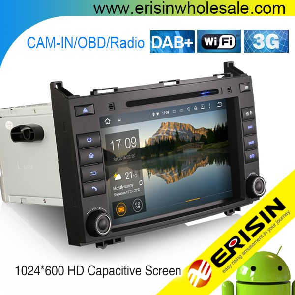 "Erisin ES3021B 8"" Mercedes Sprinter Car Audio System with GPS Navigation"