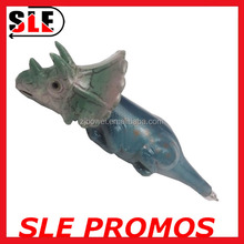2016 Cute Design Promotional Animal Shaped Dinosaur /Triceratops Fancy Pen