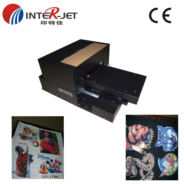 Garment DGT A3 size flatbed printer