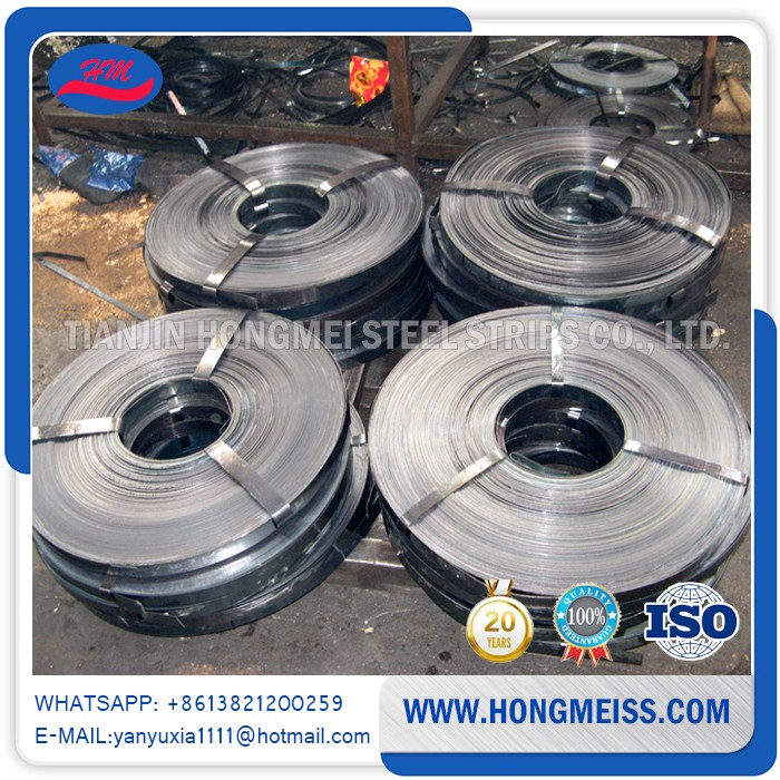 Professional Steel Factory supplyThickness 0.38-1.2mm cold rolled bailing hoop steel strip strapping band for packing