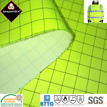 Fluorescent PU Coated Antistatic conductive polyester Fabric