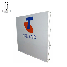 High quality outdoor pop up display wall stand